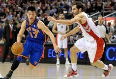 Neat story happening with Lin and the Knicks