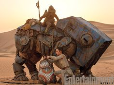 Star Wars 7 dans Entertainment Weekly avec Daisy Ridley