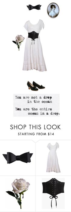 """""""You are not a drop in the ocean..."""" by me1ody ❤ liked on Polyvore featuring Chanel, Batiste, Abigail Ahern, Boohoo, love, dress and ootd"""