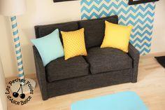 Alice Balice DIY - Maison de Barbie : le canapé