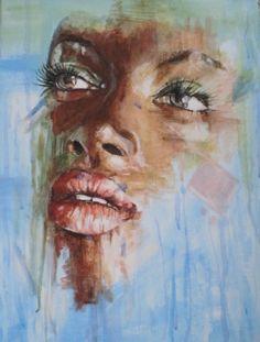 Malba portrét Painting, Art, Art Background, Painting Art, Kunst, Paintings, Performing Arts, Painted Canvas, Drawings