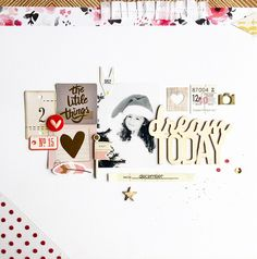 Layout for In The Scrap Blog - Crate Paper Products - Bylaeti