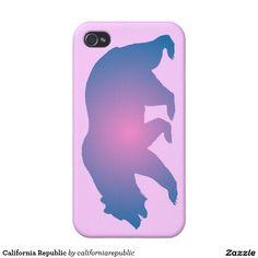 California Republic iPhone 4 Covers
