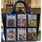 In The Hoop :: Purses & Wristlets :: Photo Vinyl Pockets Tote - Embroidery Garden In the Hoop Machine Embroidery Designs