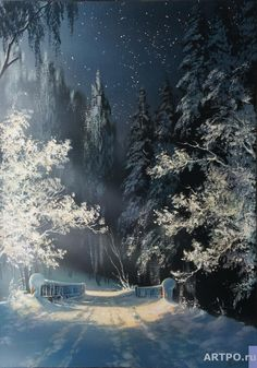 Painting landscape beautiful forests 44 ideas for 2019 Winter Landscape, Landscape Art, Landscape Paintings, Christmas Landscape, Winter Szenen, Winter Magic, Winter Photography, Art Photography, Winter Drawings