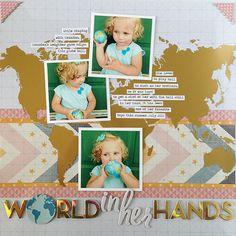 Atlas Summer Series: World in Her Hands   Pink Paislee