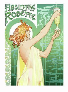 Absinthe Robette by A1WEND1L on DeviantArt