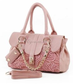 Its pink its lace. Need I say more? Women's Handbags & Wallets - amzn.to/2iZOQZT Clothing, Shoes & Jewelry : Women : Handbags & Wallets :