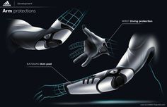 ADIDAS - Cricket innovation by pascal ruelle, via Behance