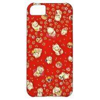 Maneki-Neko Asian Chinese Japanese Lucky Cat iPhone 5C Covers