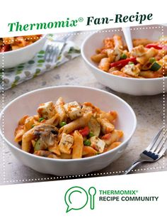 Tomato pasta with vegetables and feta by Thermomix in Australia. A Thermomix ® recipe in the category Main dishes - vegetarian on www.recipecommunity.com.au, the Thermomix ® Community.