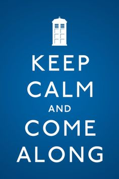 Keep Calm with Dr Who