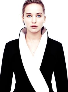 """""""Once I'm obsessed with somebody, I'm terrified of them instantly. I'm not scared of them — I'm scared of me and how I will react."""" Jennifer Lawrence"""