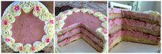 Liian hyvää: Mansikkamoussekakku 20:lle, 40:lle sekä 60 hengelle Baking, Cake, Desserts, Food, Pie Cake, Tailgate Desserts, Pastel, Meal, Patisserie