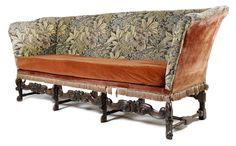 A William and Mary style walnut settee - Lot 102 - Furniture, Works of Art & Clocks