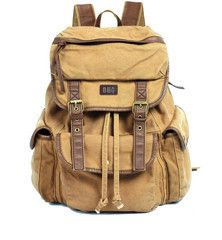 Canvas #Rucksack #Backpack for School & Outdoor #Serbags