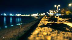beach photography borders night background