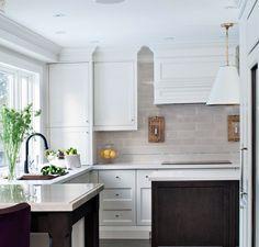 In Good Taste:Elizabeth Metcalfe - Design Chic #Homes #kitchen #HomeDecorators