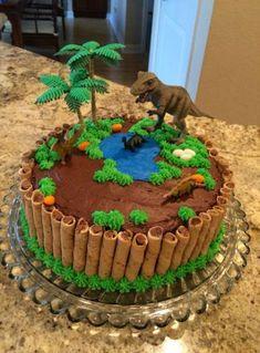 birthday cake for boys - birthday cake . birthday cake for women . birthday cakes for men . birthday cake for boys Birthday Cake Kids Boys, Dinosaur Birthday Cakes, 4th Birthday Cakes, Birthday Parties, Dinosaur Cakes For Boys, Dinosaur Cake Easy, Dinosaur Party, Dinosaur Cupcake Cake, Dinosaur Dinosaur