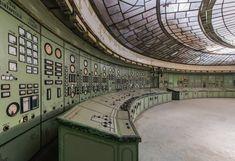 art deco power plant