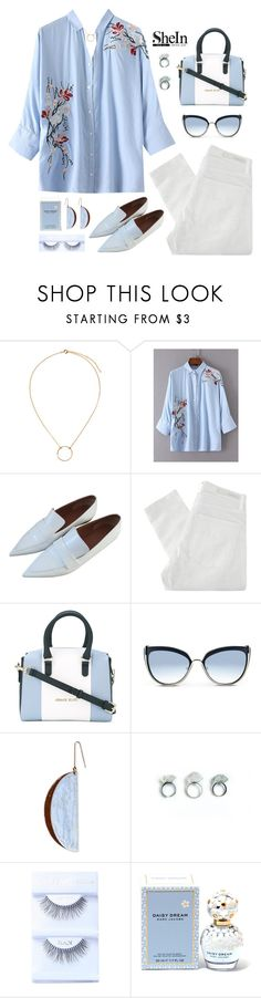 """miss independent"" by the-dreamcatcher ❤ liked on Polyvore featuring H&M, CÉLINE, Nobody Denim, Armani Jeans, Karl Lagerfeld, STELLA McCARTNEY and Marc Jacobs"