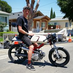 50cc caferacer | moped | pinterest | mopeds, scooters and cars