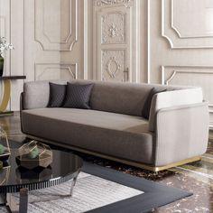 Contemporary Designer Italian Quilted Nubuck Sofa at Juliettes Interiors. Luxury Living Room, Luxury Living Room Design, Luxury Furniture, Italian Furniture Modern, Contemporary Sofa, Modern Sofa Designs, Contemporary Furniture, Italian Sofa Designs, Luxury Sofa