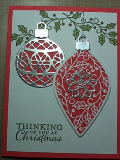 Watermelon Christmas by Pegstr - Cards and Paper Crafts at Splitcoaststampers