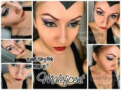 Maleficent inspired make-up https://m.youtube.com/user/SweetFairyPink87