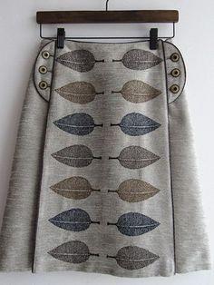 Happa skirt, Mina Perhonen skirt . Perhaps something like this for my Marianne Westman Picknick fabric?