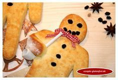 Weckmann / Stutenkerl aus glutenfreiem Quark-Öl-Teig! Gelingt wunderbar und schmeckt köstlich! www.rezepte-glutenfrei.de