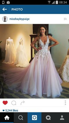 Hayley Paige leah gown