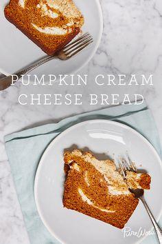 Pumpkin Cream Cheese Bread. The best pumpkin dessert you'll ever have.