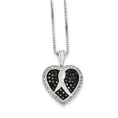 1/2 Carat Black White Diamond Heart Pendant Necklace In Sterling Silver Christmas 2014 Holiday Jewelry Deals and Sales At Gemologica.com. Xmas Gift guide, Gift Ideas For Him, Gift Ideas For Her, Gift Ideas For Kids. Give the Gift of Fine Jewelry From the Gemologica.com Online Jewelry Store. Unique Gifts, Personalized Gifts, Gift Finder For Men, Women, Children @ GEMOLOGICA.COM