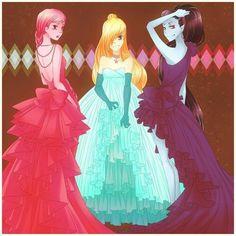 Princess Bubblegum Marceline Fiona