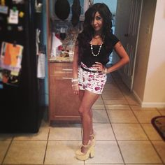 Nicole Snooki Polizzi - Night Out Outfit