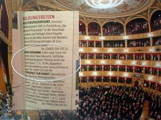 Opernvergnügen in Triest am 7.11. Photo Wall, Blog, Culture Travel, Opera House, Holy Spirit, Travel, Art, Photography, Blogging