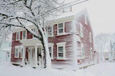 18th Century House in Warren, RI. Simply Divine.