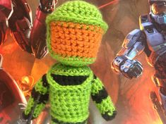 Halo Master Chief Crochet Pattern by SarahBethsBoutique on Etsy, $4.50. Eagerly waiting to start this!