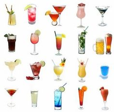 Drinks, drinks, and more drinks