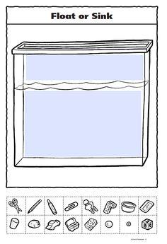 float or sink worksheet so much better for kindergarteners than the one i made stem. Black Bedroom Furniture Sets. Home Design Ideas