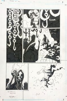 Mike Mignola - Hellboy in Hell # 2, page 17