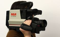 Video App. Eighties camcorders were not the smallest portable gadgets