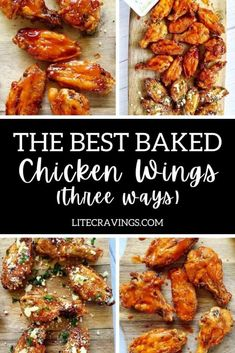 Easy Bbq Recipes, Ww Recipes, Appetizer Recipes, Appetizers, Best Baked Chicken Wings, Chicken Wing Recipes, Bacon Meatloaf, Bbq Bacon, Food Network Recipes