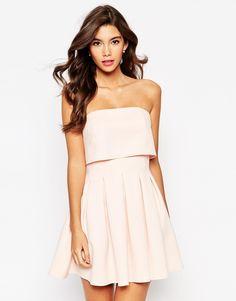 pretty bandeau dress