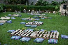 Decoración para una boda tipo picnic. https://www.facebook.com/wunderkeks?fref=photo