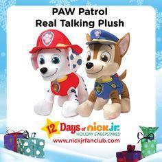 Holiday Wish List item: PAW Patrol Real Talking Plush!
