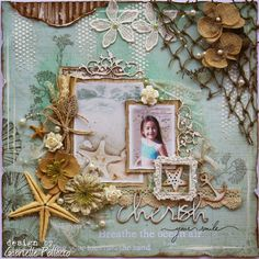 Scrapbook page Kit  VIDEO TUTORIAL by Gabrielle Pollacco for THe Scrapbook Diaries.  All products plus a video tutorial now available in a kit, get your's while they are still available http://gabriellepollacco.blogspot.ca/2014/07/new-page-kit-from-scrapbook-diaries.html
