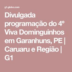 Divulgada programação do 4º Viva Dominguinhos em Garanhuns, PE | Caruaru e Região | G1