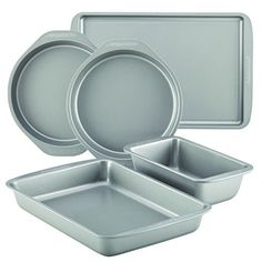 Farberware Nonstick Bakeware 5Piece Baking Pan Set Gray -- Find out more about the great product at the image link.-It is an affiliate link to Amazon.